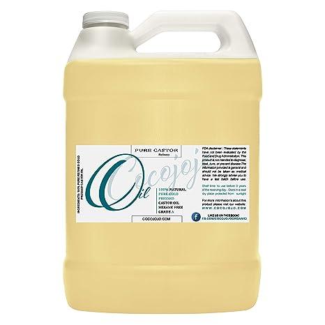 Amazon.com: Aceite de ricino puro de 1 galón – Clavos para ...