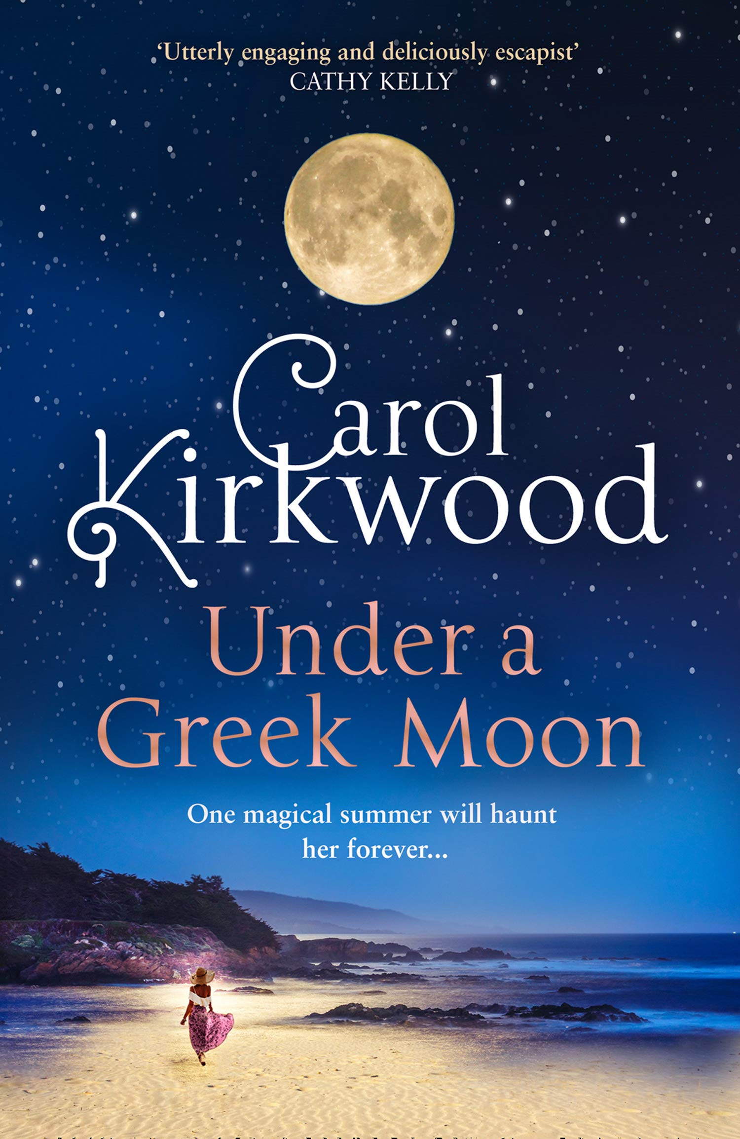 Under A Greek Moon The New Bestseller From The Much Loved Tv Presenter Amazon Co Uk Kirkwood Carol 9780008393427 Books