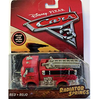 Cars 3 Deluxe Red Die-Cast Vehicle: Toys & Games