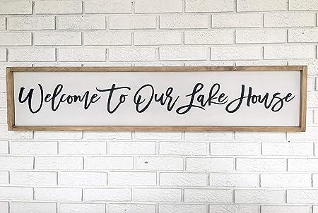 CELYCASY Cartel de Bienvenida | Cartel de la casa del Lago ...