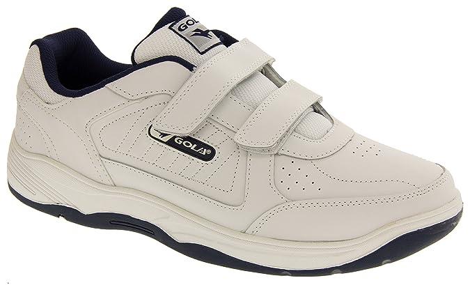 Belmont Hommes Chaussures De Salle Velcro Gola T9CT6N