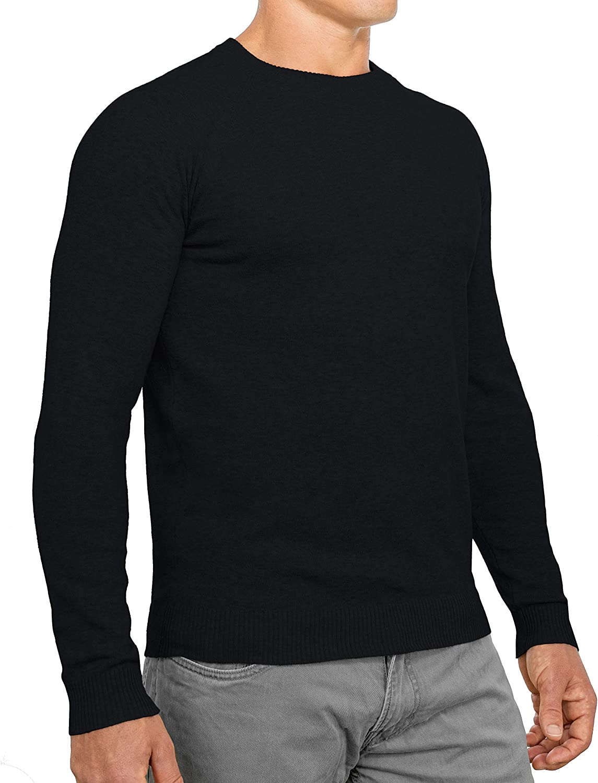 CC Perfect Slim Fit Crewneck Sweaters for Men