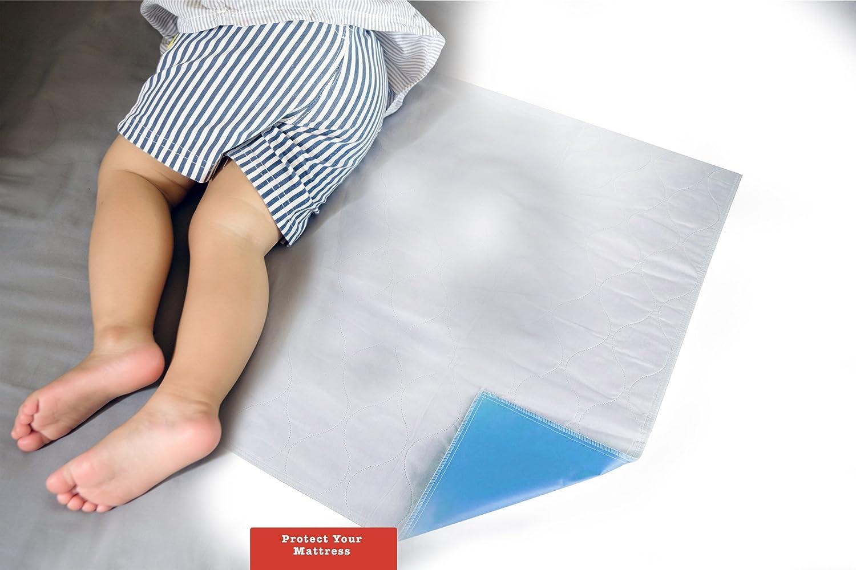 Compresas lavables para la cama
