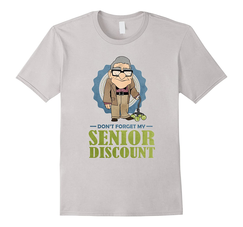 Senior Discount Grumpy Old Man T-shirt