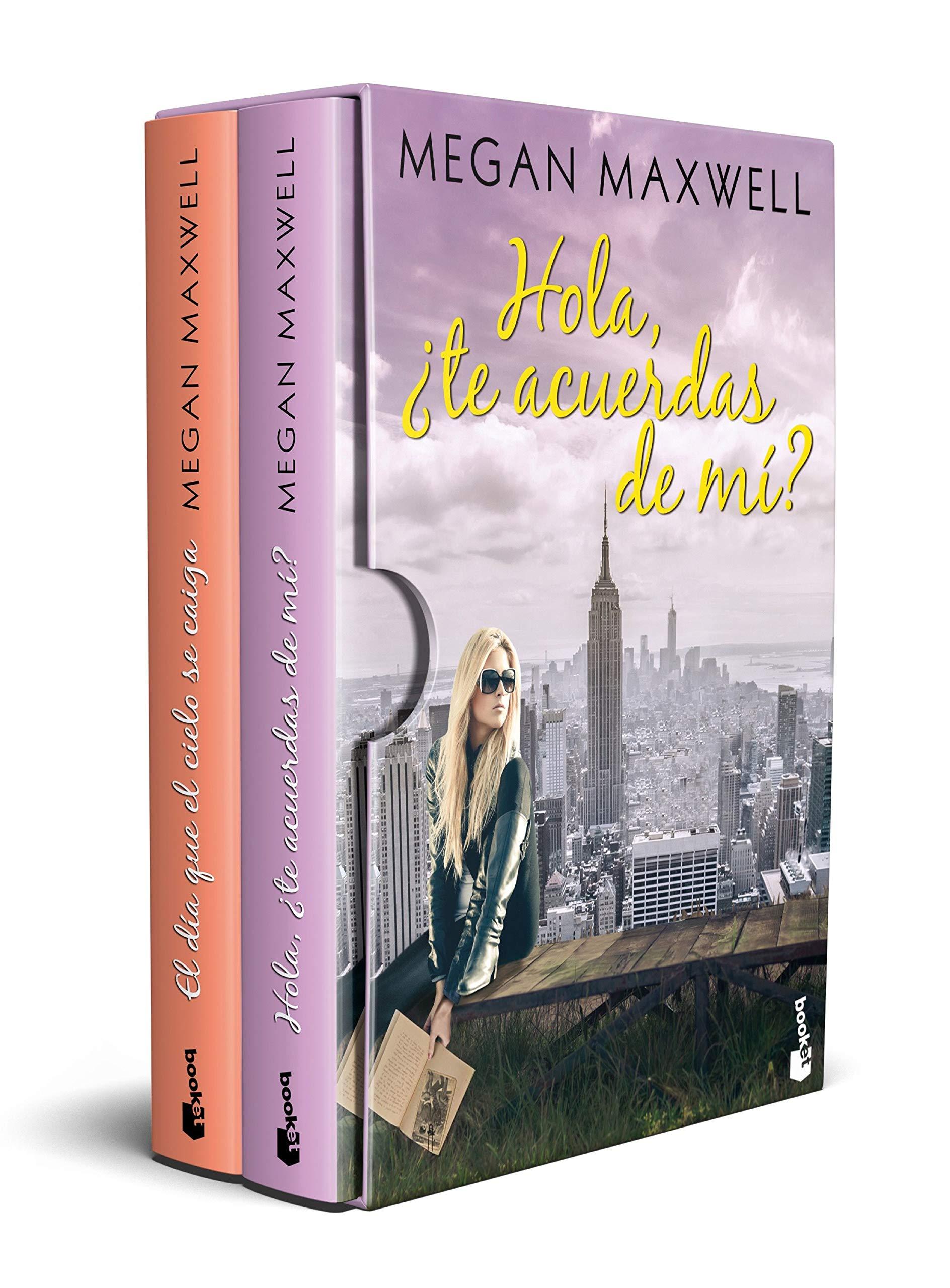 Estuche Megan Maxwell Romántica 2 Novela Romántica Amazon Es Maxwell Megan Libros