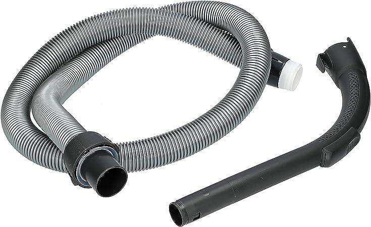 ✧WESSPER/® Tuyau pour aspirateur Electrolux 13m ergospace /ø32mm, 230cm, argent