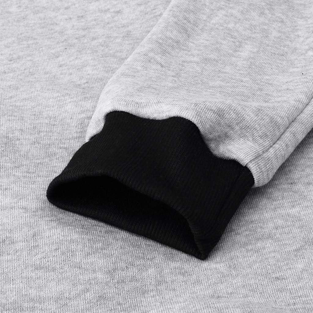 Sinzelimin Men Autumn Winter Long Sleeve Casual Sweatshirt Hoodies Solid Color Tracksuits