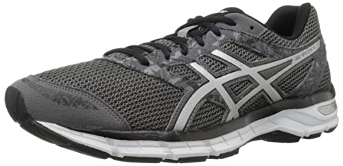 a4af6d622 ASICS Gel-Excite 4 Running Shoe Black True Red Carbon 6.5 D(M) US  Buy  Online at Low Prices in India - Amazon.in