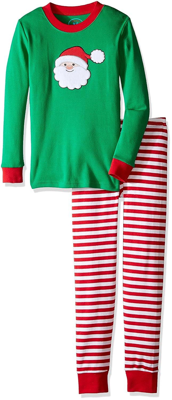Saras Prints Unisex Kids Long John Pajamas