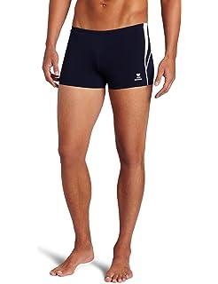 ca4b934388 Amazon.com : TYR Sport Men's Square Leg Short Swim Suit : Athletic ...