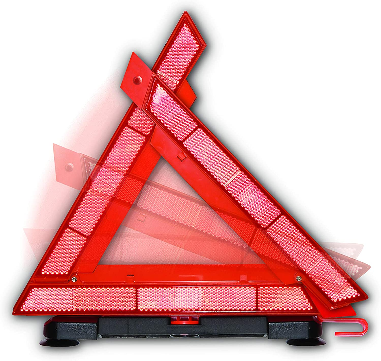 Justin Case Window Safety Reflective Triangle Reflective Triangle for Roadside Emergencies