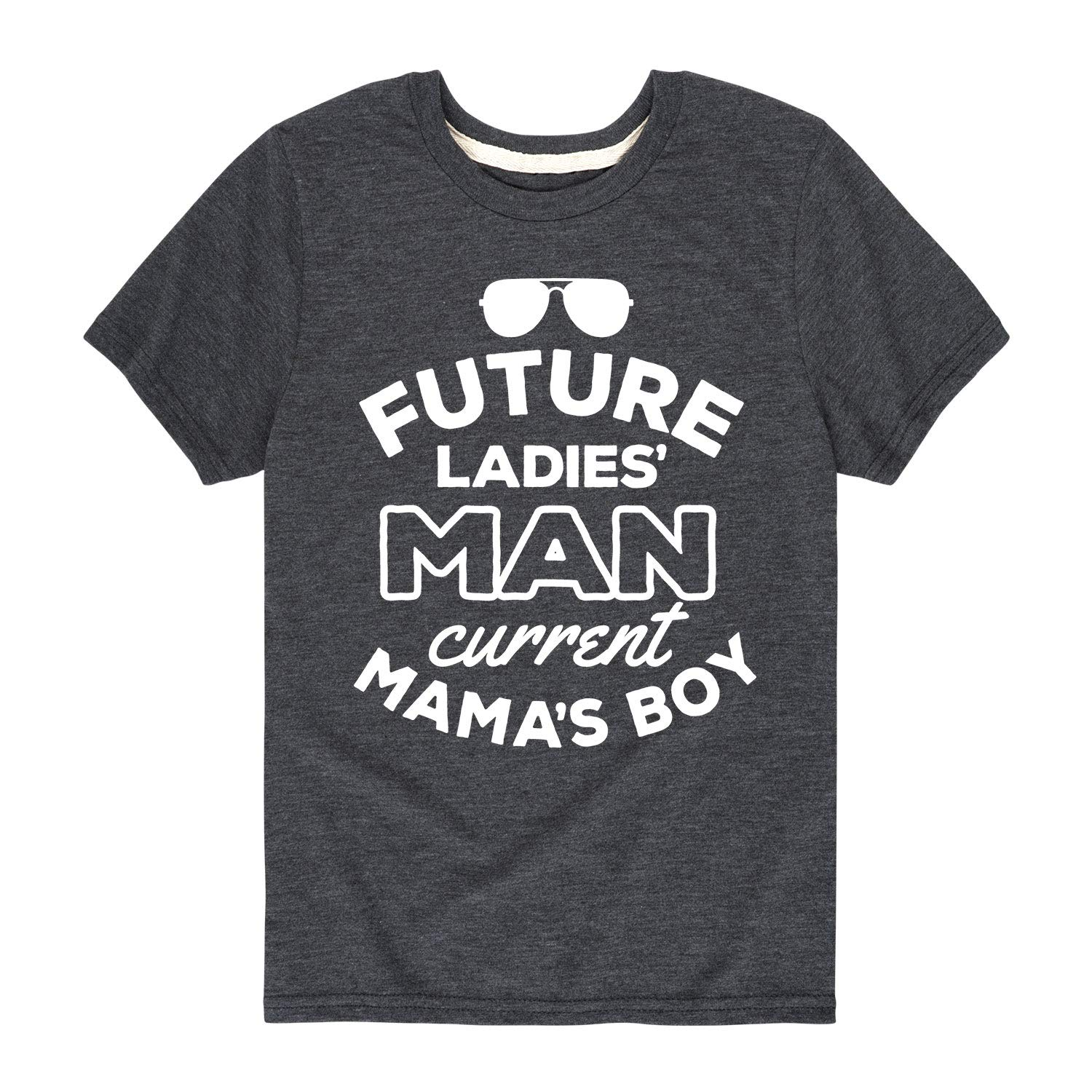 Toddler Short Sleeve Tee Instant Message Future Ladies Man Mamas Boy