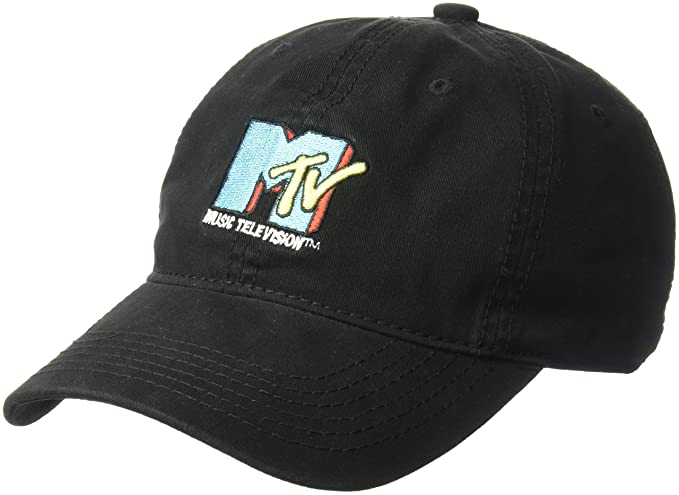 966f54691e0 Image Unavailable. Image not available for. Color  MTV Men s Core Logo Baseball  Cap