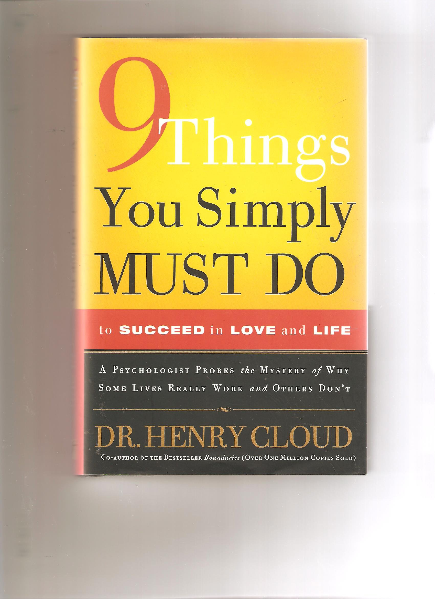 Download 9 Things You Simply Must Do to Succeed in Love and Life PDF
