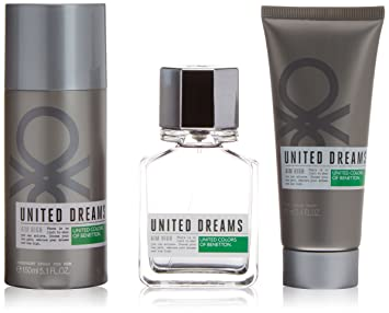 Benetton United Dreams Man Aim High Colonia + Aftershave + Desodorante - 1 Pack: Amazon.es: Belleza