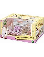 EPOCH Girl'S Room Set Sylvanian Families Mini muñecas y Accesorios, Multicolor (2953) , Modelos/colores Surtidos, 1 Unidad