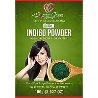 Saffron HealthyWay- Indigo Powder 100% pure and Organic for hair colour
