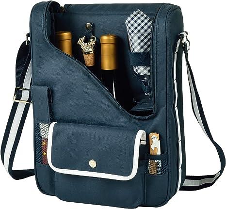 Travel wine tote bag