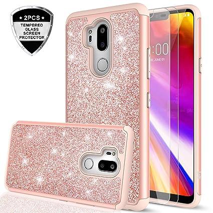 Amazon.com: Funda para LG G7 ThinQ, LG G7 G7 Glitter con ...