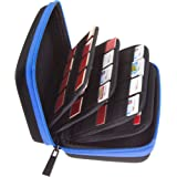 Butterfox 68 Game Card Storage Holder Case for Nintendo 3DS, 2DS and Nintendo Switch (48 3DS + 20 Switch)