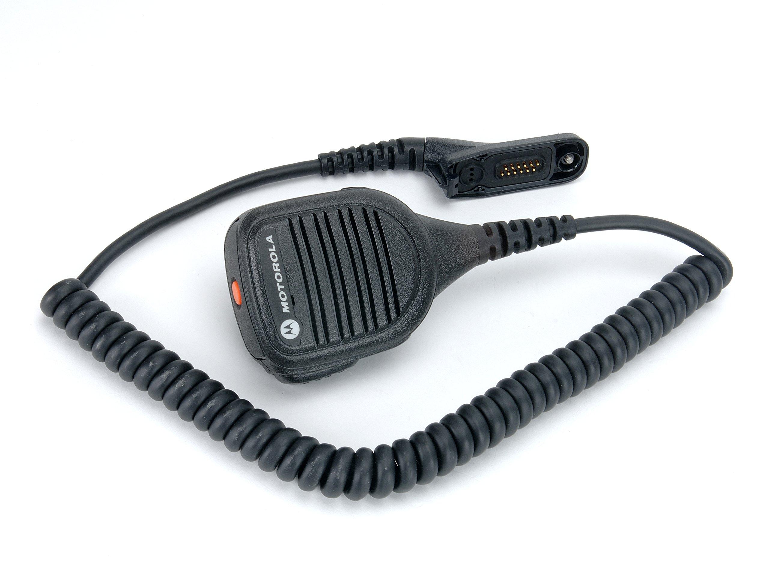 Motorola PMMN4062A Remote Speaker Microphone with Impres Audio (Black)