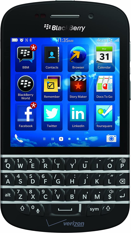 B00D3OK4RO BlackBerry Q10, Black 16GB (Verizon Wireless) 818AECRhozL
