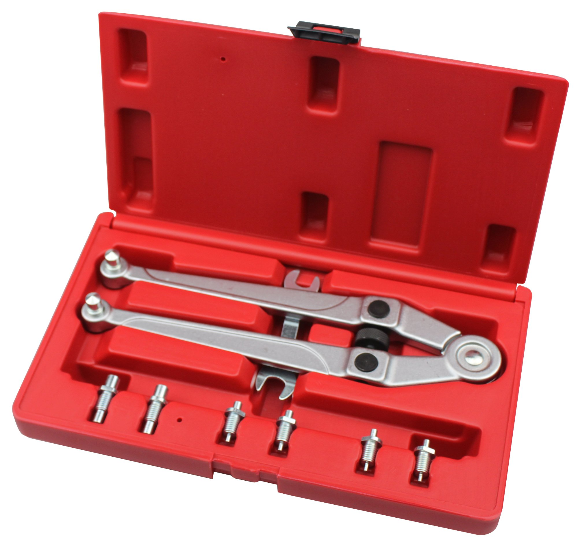 Auto part ET-00401 Universal PIN Spanner Set Gland NUT Wrench Range: 25/32'' - 3-15/16''