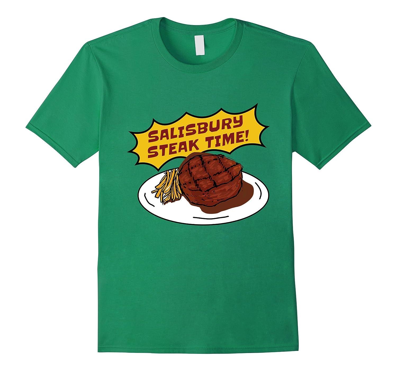 Salisbury Steak Time T-Shirt  Salisbury Gravy Mix Tee-Vaci