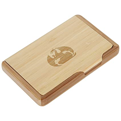 Amazon dragon bamboo business card holder with laser engraved dragon bamboo business card holder with laser engraved design business card keeper holds up colourmoves