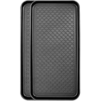 Context 100% Recycled Polypropylene Indoor/Outdoor Tray Mat - 2-Pack