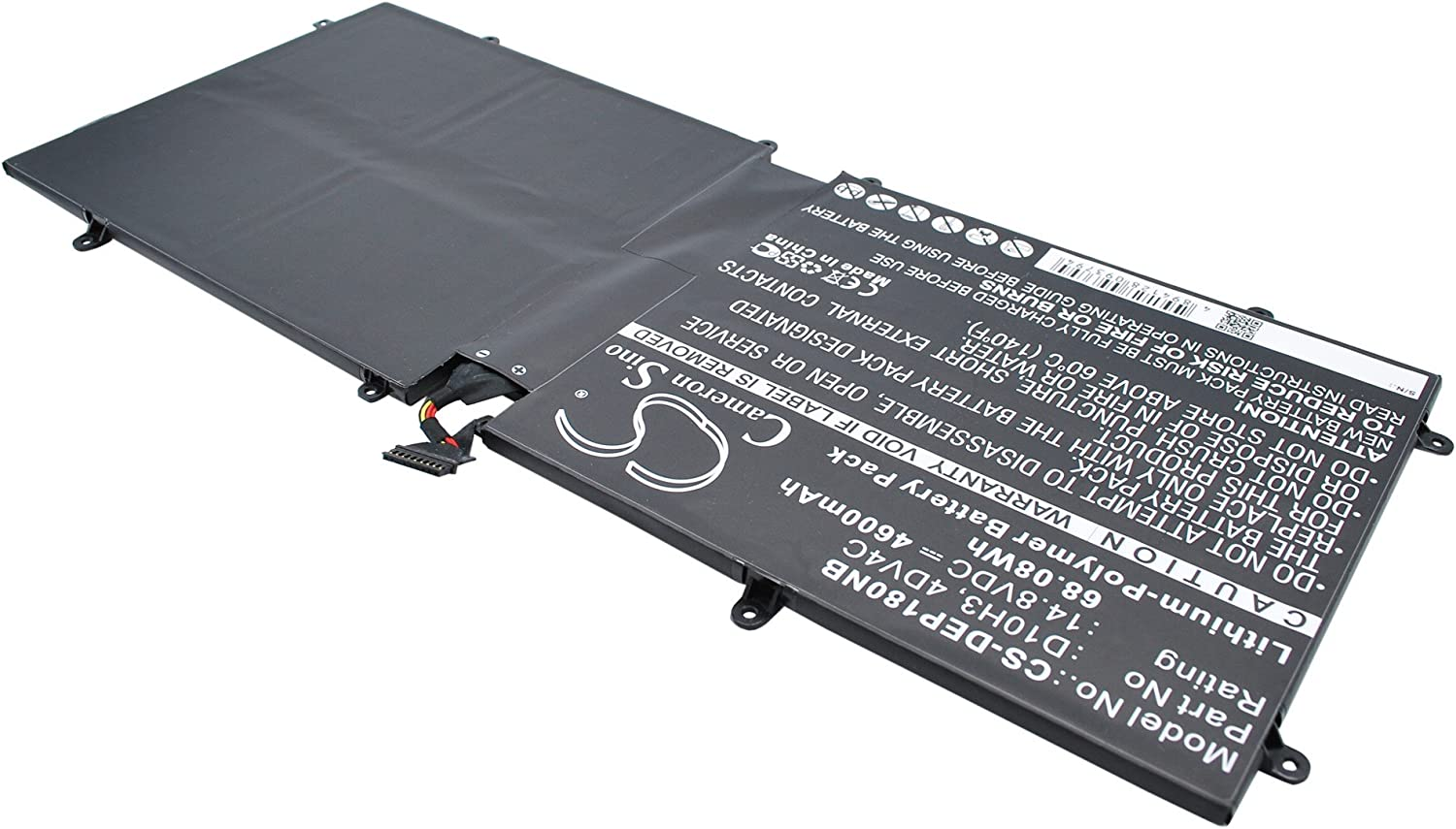 GAXI Battery for DELL XPS 18, XPS 18 1810, XPS 18 1820 Replacement for P/N 4DV4C, 63FK6, D10H3