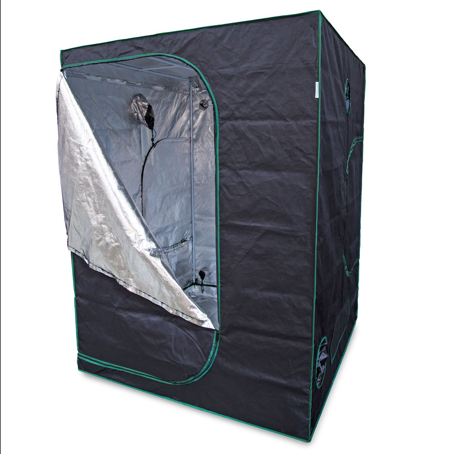 Urban Farmer 57x57x78 Reflective Mylar Hydroponic Grow Tent for Indoor Plant Growing