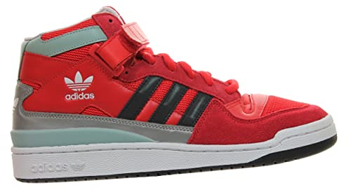 adidas Forum Mid RS Winterized - Zapatillas para Hombre, Color Rojo/Blanco/Negro, Talla 47 1/3: Amazon.es: Zapatos y complementos