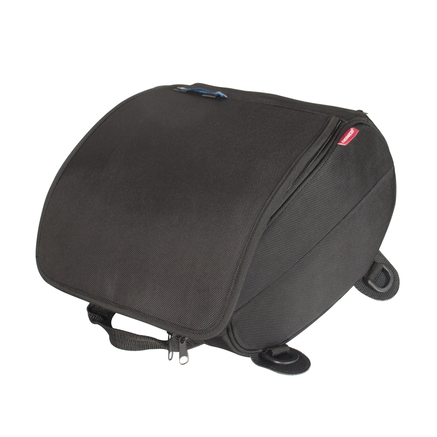 Dowco Rally Pack 50104-00 Water Resistant Motorcycle Tail Bag: Black, Universal Fit, 24 Liter Capacity