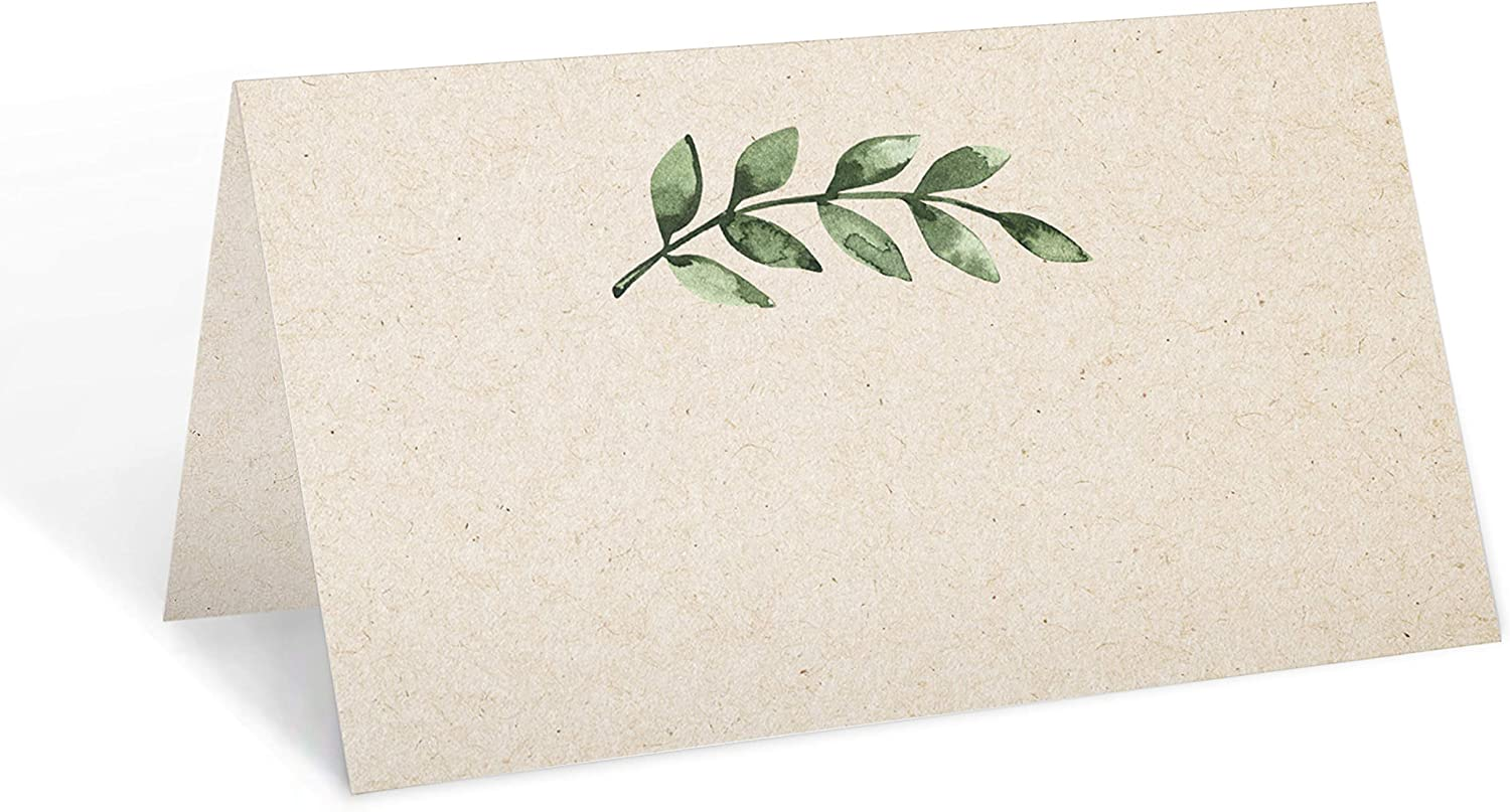321Done Greenery Place Cards (Set of 24) 3.5