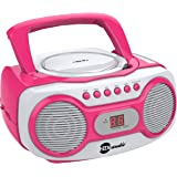 Amazon Com Jensen Cd 490 Portable Stereo Cd Player With
