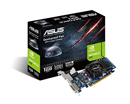 214 opinioni per Asus GeForce GT 210 210-1GD3-L