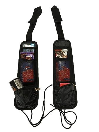 2× Tasche Organizer Autositztasche für Autositz Tasche Ablage KFZ Rücksitz Tasc