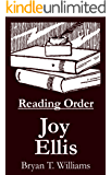 Joy Ellis - Reading Order Book - Complete Series Companion Checklist (English Edition)