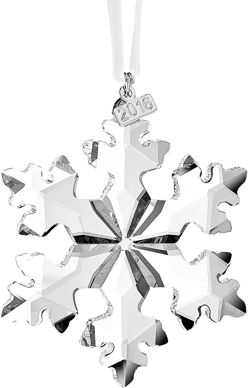 Amazon Com Swarovski 5180210 Annual Edition 2016 Christmas Ornament Home Kitchen
