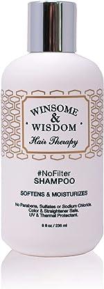 NoFilter Moisturizing Daily Shampoo Moroccan Argan Oil 8.5 oz Alcohol Paraben