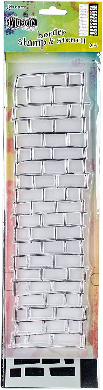12 Ranger Dyan Reaveleys Dylusions Clear Stamp /& Stencil Set