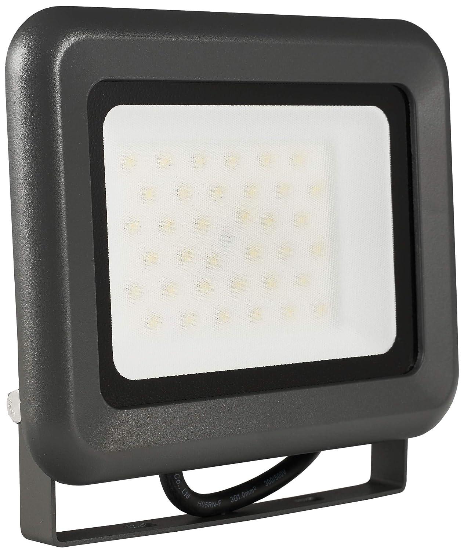 LUMIRA LED Fluter 30W, Ersatz für 300W Flutlicht-Strahler, Außen-Leuchte für Innen- und Außenbereich, IP65, Kaltweiß [Energieklasse A+] Kaltweiß