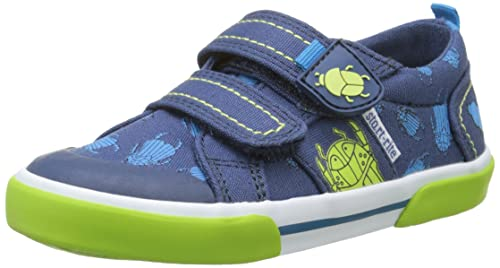 Start-Rite Big Bug Canvas, Espadrillas Ragazzi, Blu (Navy Multi Floral 6144_9), 20 EU