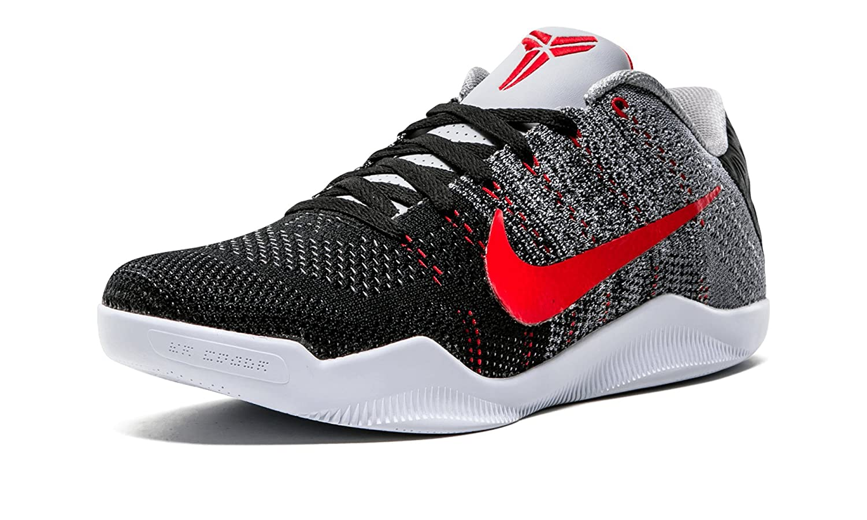 finest selection a865a de915 Nike Men s Kobe XI Elite Low, TINKER HATFIELD-COOL GREY UNIVERSITY  RED-BLACK, 8.5 M US  Amazon.ca  Shoes   Handbags