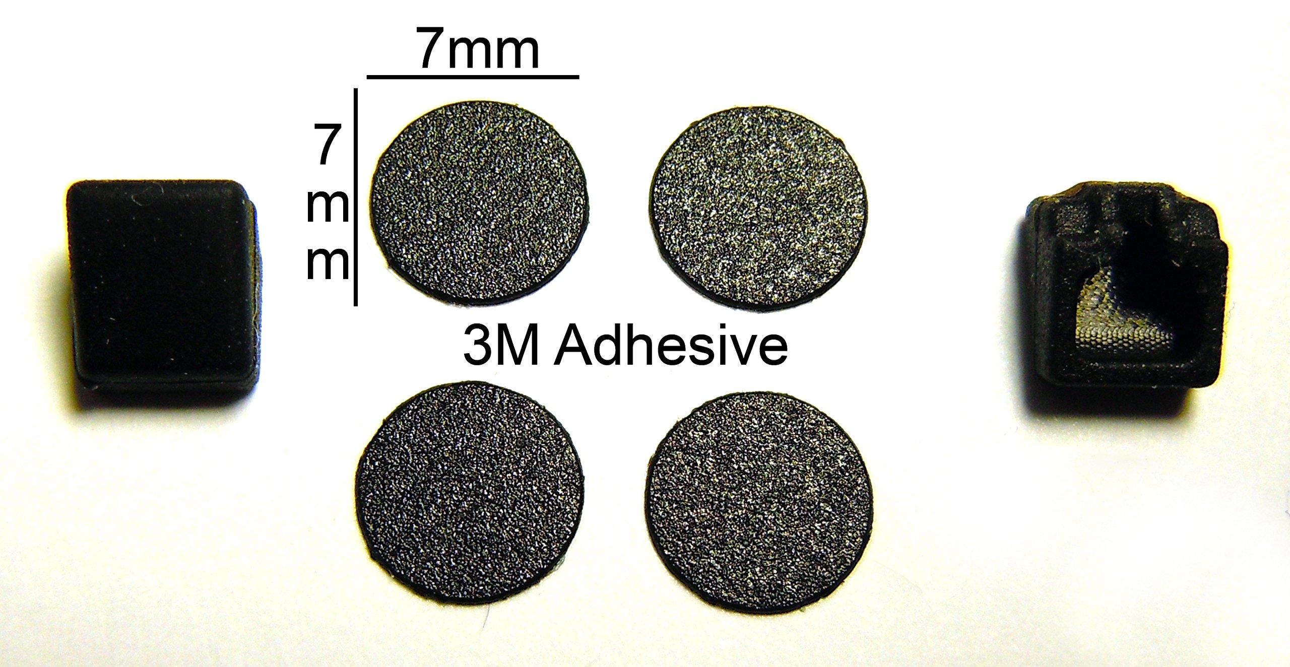 VATH LCD Screw Cover Kit for IBM Lenovo ThinkPad LCD Screw Cover Kit for T61 R61 T400 R400 Models [442]