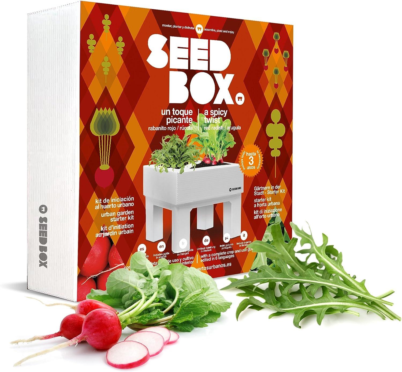 SeedBox Seed Box SBCOTP - Toque Picante: Amazon.es: Jardín