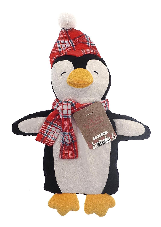 Niñ os temporada de invierno divertido tartá n sombrero y bufanda 3D novedad 1L botella de agua caliente (oso polar) Beamfeature