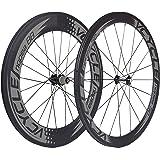 VCYCLE Nopea Strada 700c Bici Carbonio Ruote Tubolare Anteriore 50mm Posteriore 88mm in Bicicletta Shimano o Sram 8/9/10/11 Velocità