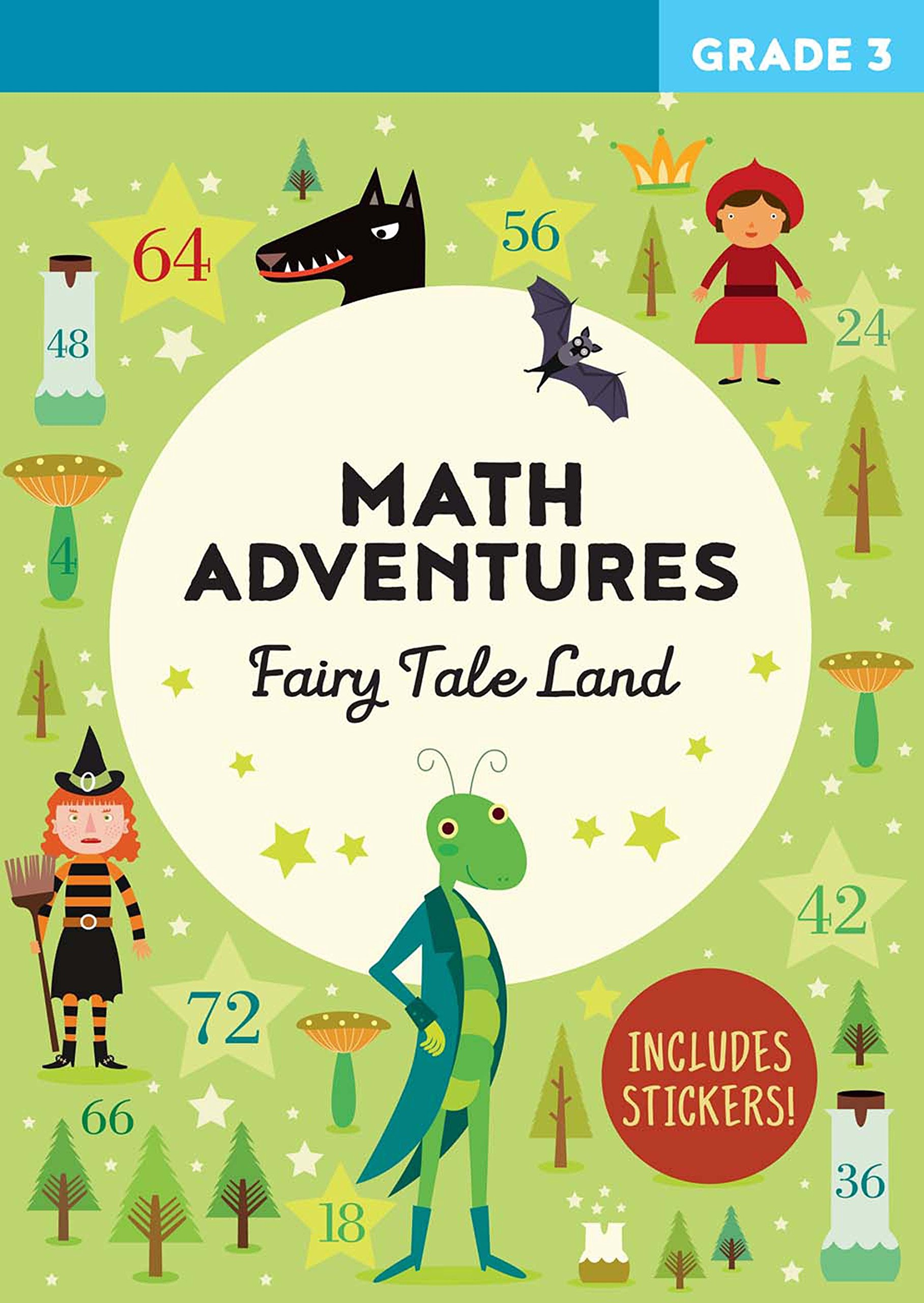 Buy Math Adventures Grade 3: Fairy Tale Land Book Online at